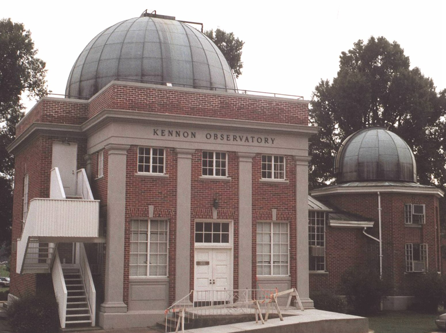 North side of Kennon Observatory